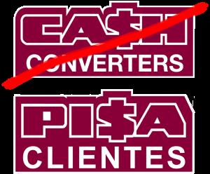 Cash Convertes pisa clientes